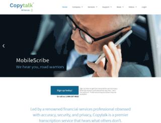 copytalk.com screenshot