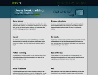 copyto.co screenshot