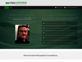 copyunlimited.com screenshot