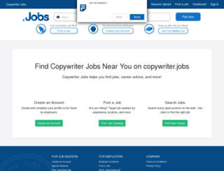 copywriter.jobs screenshot