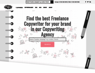 copywritercollective.com screenshot