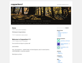 copywriters1.wordpress.com screenshot