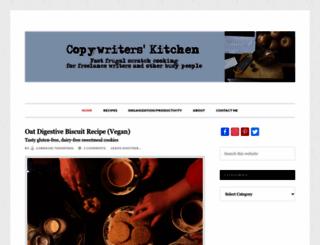copywriterskitchen.com screenshot