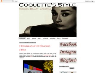 coquettesstylingblog.blogspot.com screenshot