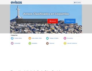 coquimbo.evisos.cl screenshot