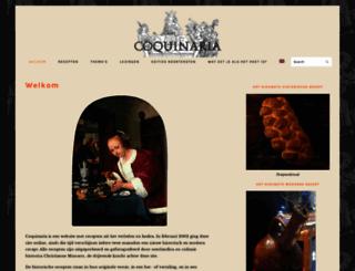 coquinaria.nl screenshot