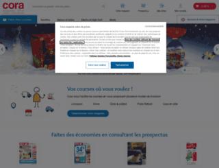 cora.fr screenshot