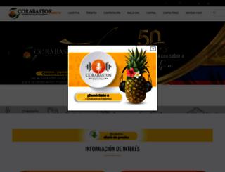 corabastos.com.co screenshot