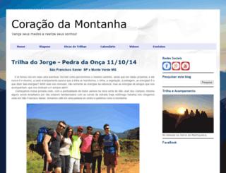 coracaodamontanha.blogspot.com.br screenshot