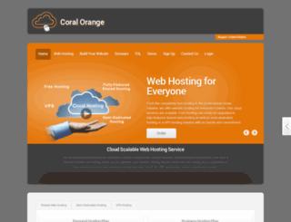 coral-orange.runhosting.com screenshot