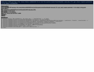 corallus-forum.de screenshot