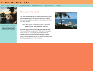 coralshore.com screenshot