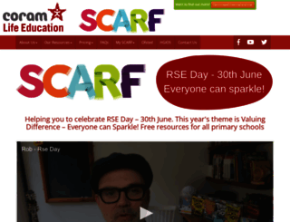 coramlifeeducation.org.uk screenshot