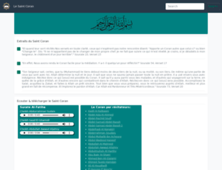 coran.net screenshot