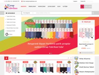 corapfabrikasi.com screenshot