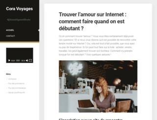 coravoyages.fr screenshot