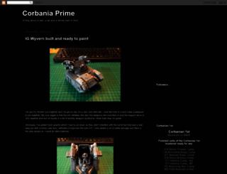 corbaniaprime.blogspot.com screenshot