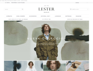 corbataslester.com screenshot