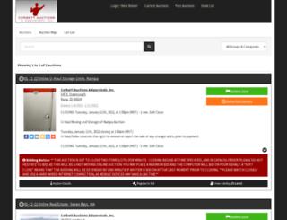 corbettauctions.hibid.com screenshot