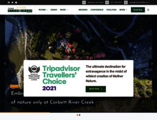 corbettrivercreek.com screenshot