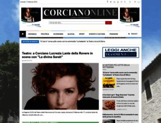 corcianonline.it screenshot