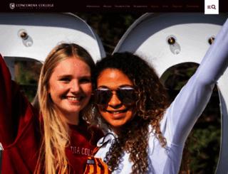 cord.edu screenshot
