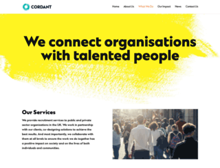 cordantrecruitment.com screenshot