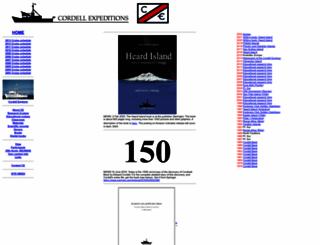 cordell.org screenshot
