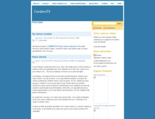 corderotv.blogspot.com screenshot