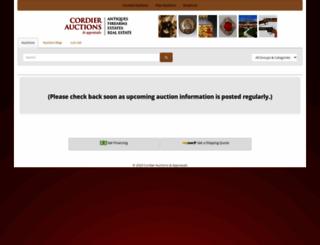 cordierauction.hibid.com screenshot