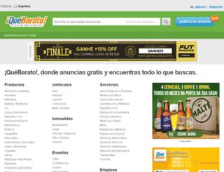 cordoba.quebarato.com.ar screenshot