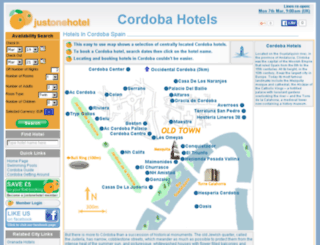cordobahotels.co.uk screenshot