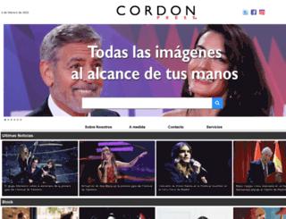 cordonpress.com screenshot