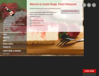 cordonrouge.com.pk screenshot