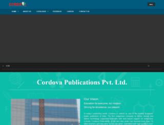 cordova.co.in screenshot