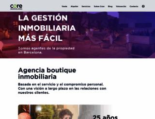 core-realestate.com screenshot