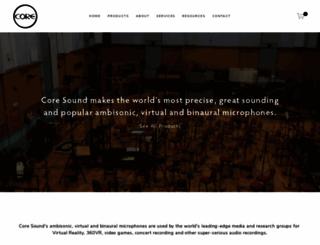 core-sound.com screenshot