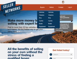 core.sellernetworks.com screenshot