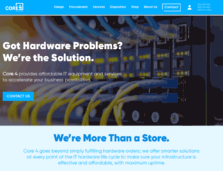 core4solutions.com screenshot