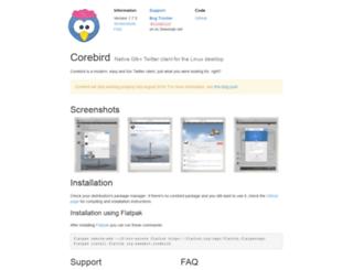 corebird.baedert.org screenshot