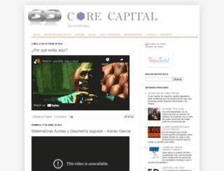 corecapital.blogspot.com screenshot
