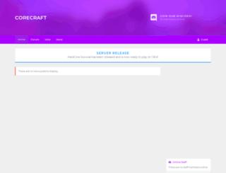corecraft.me screenshot