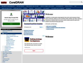 coreldraw.helpmax.net screenshot