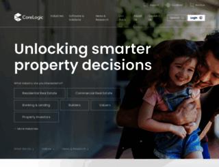 corelogic.com.au screenshot