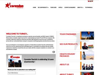 corendon.com.tr screenshot