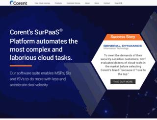 corenttechnology.com screenshot