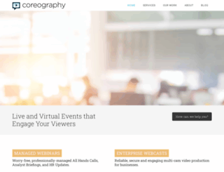 coreography.com screenshot