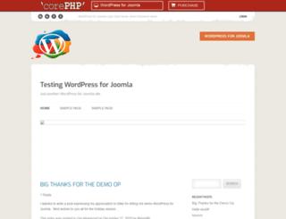 corephpdemos.com screenshot