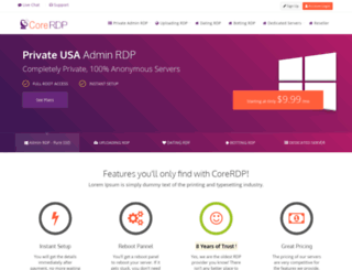 corerdp.com screenshot
