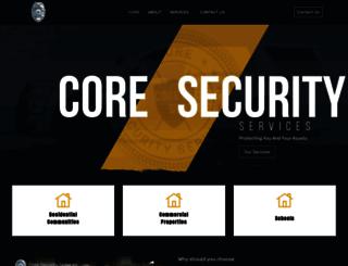 coresecurityservices.com screenshot